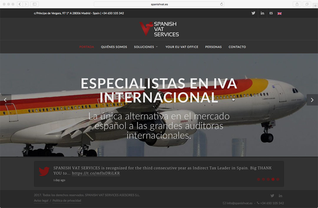 ModeloWeb-SpanishVatServices