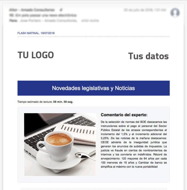 News Electrónica Personalizada