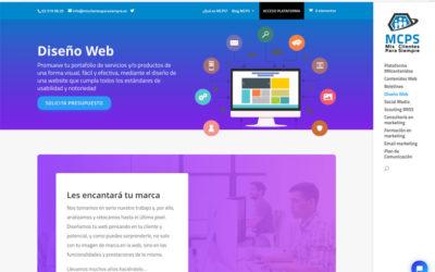 Diseñar la página web para un despacho profesional